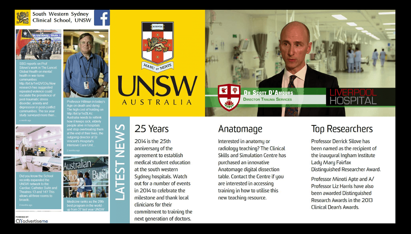 UNSW Social Wall