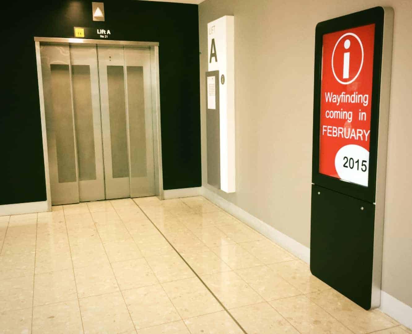 002 Digital Wayfinding Solutions - Liverpool Hospital Entrance