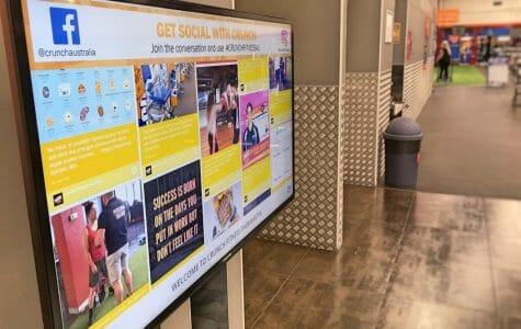 Crunch Fitness Parramatta Social Wall (1)