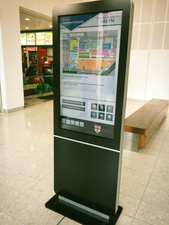 Livo001 - Digital Wayfinding Solutions - Lifts