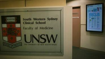 Digital Signage UNSW University
